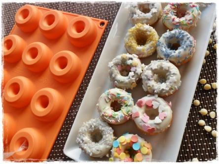 donuts cocco ciocco bianco silikomart
