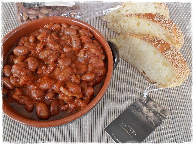 fagioli piccanti salsiccia pancetta